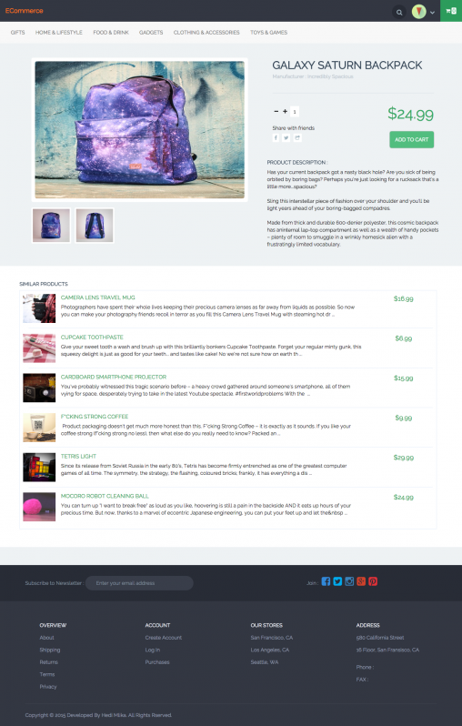 Online Store CMS