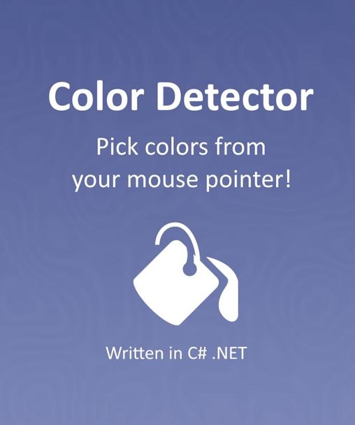 Color Detector Software Source Code